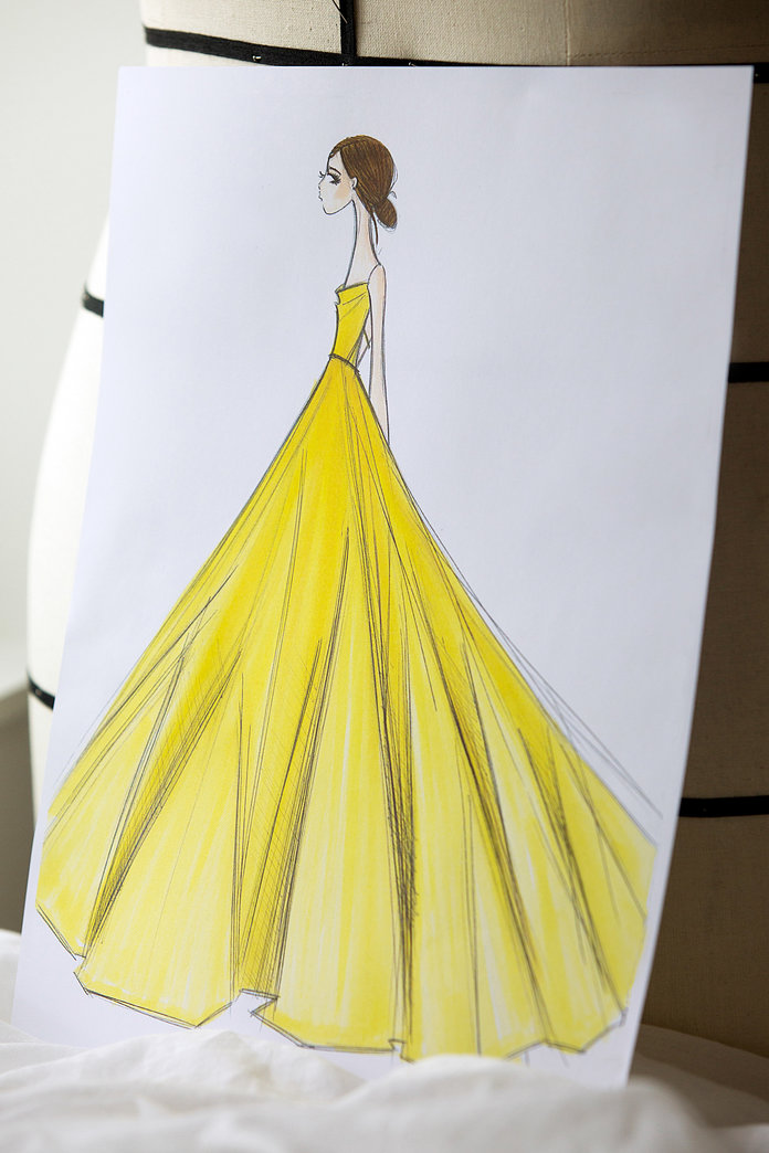 Making Emma Watson's Dress - Embed 4