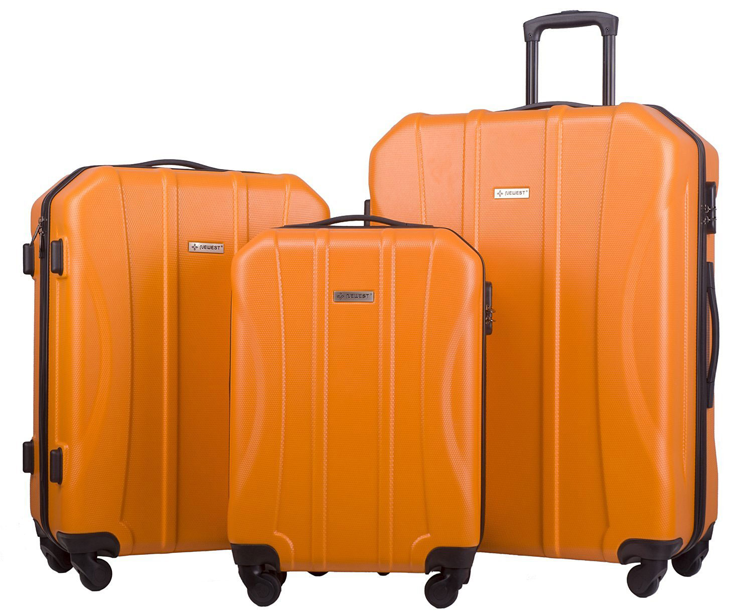 Merax Newest 3-piece Luggage Spinner Suitcase Sets