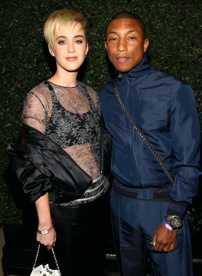 22d97d99930a Katy Perry, Pharrell at Chanel's Dinner to Celebrate the New ...