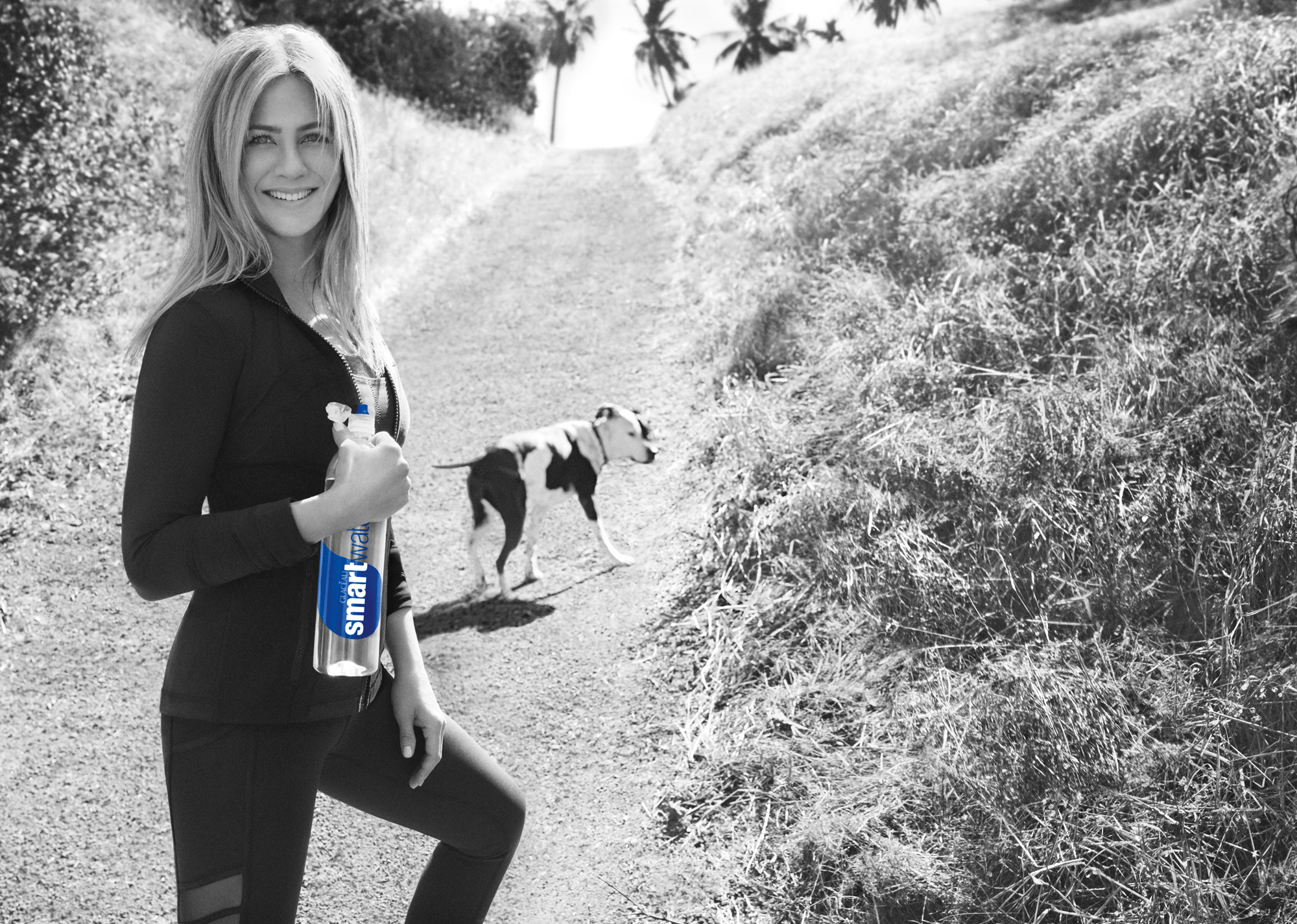 Jennifer Aniston Smart Water Lead
