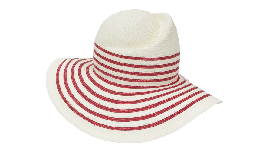 YESTADT STRIPED SUNHAT