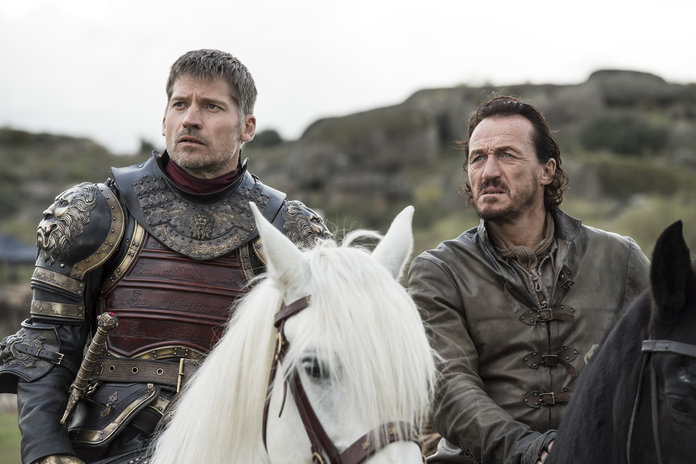Jaime Lannister and Bronn