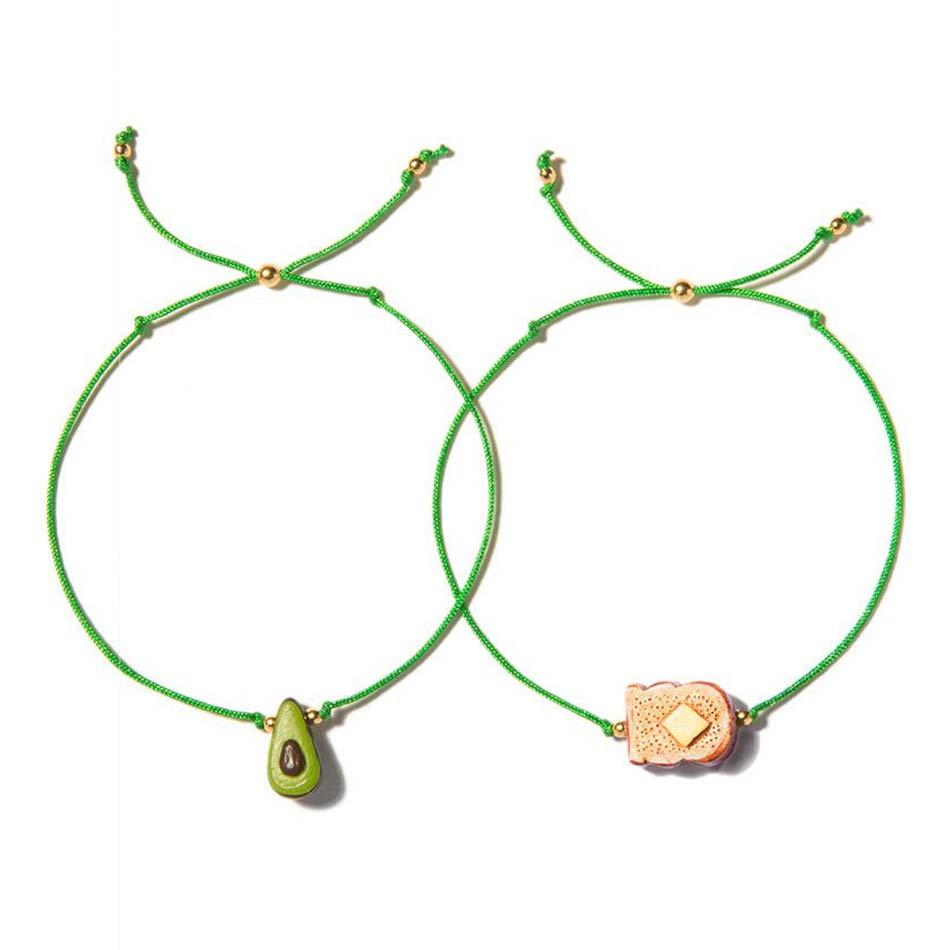 Venessa Arizaga AVOCADO TOAST BRACELET SET
