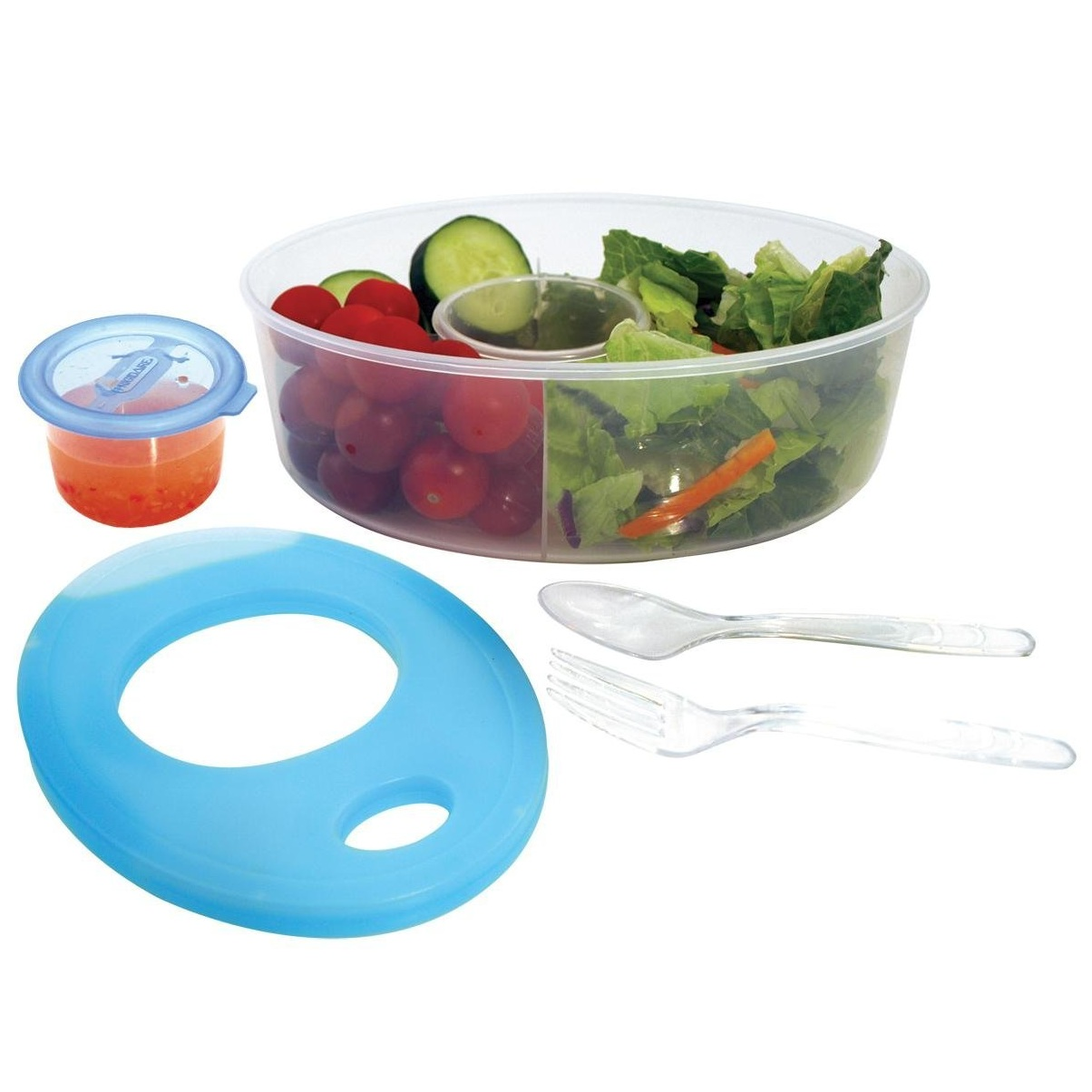 Frigidaire Plastic Salad Food Storage Container with Cool Pack