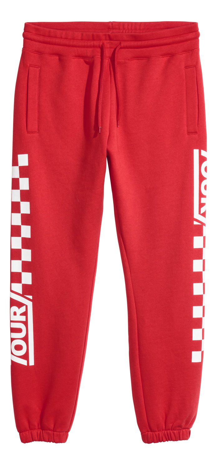 Red Jogger