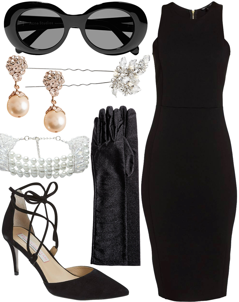 Holly Golightly Costume Outfit