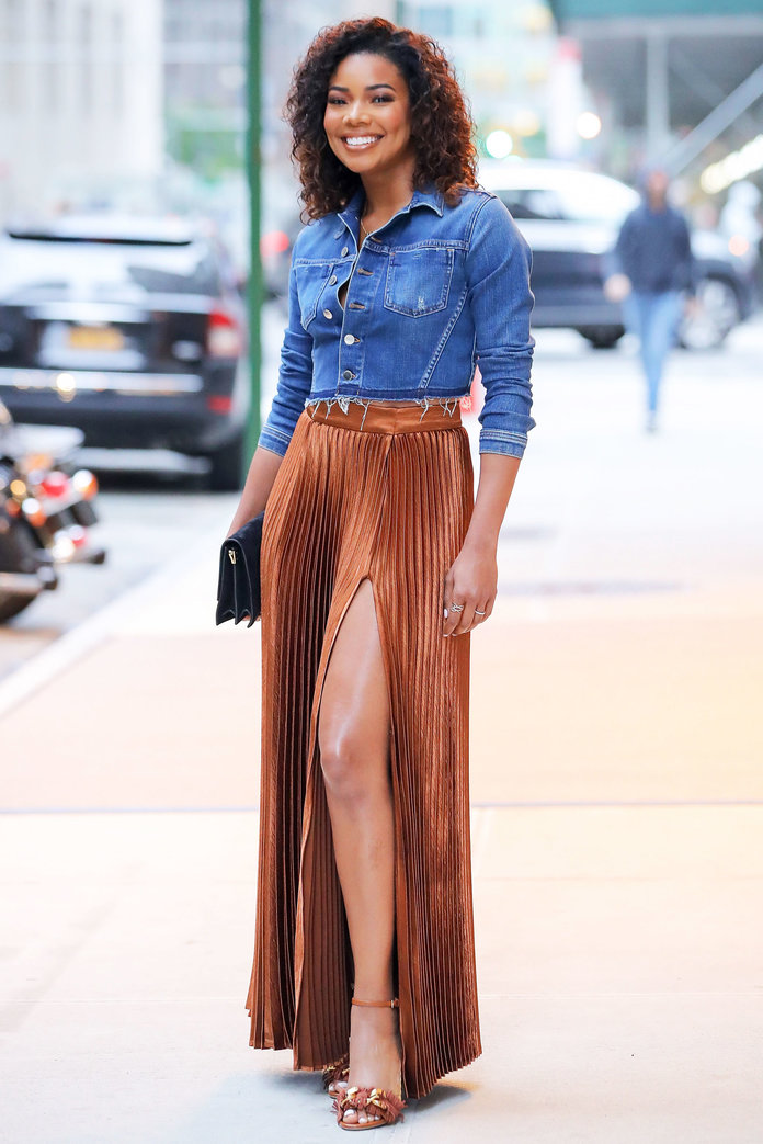 Gabrielle Union in New York and Company