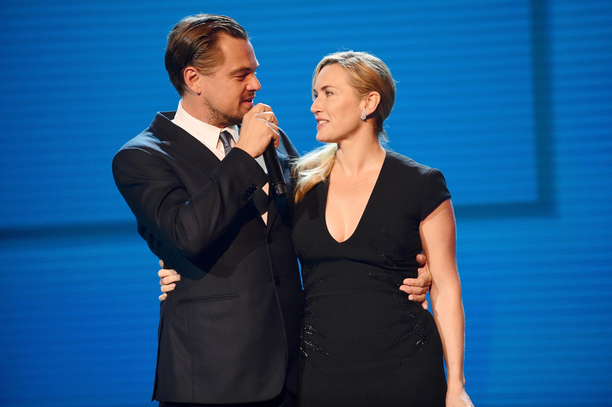 Kate and Leo at the Leonardo DiCaprio Foundation Gala