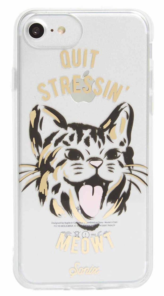 The Quit Stressin' Meowt Case by Sonix