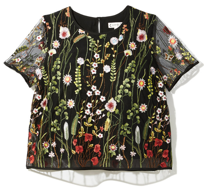 The Floral Embroidered Top