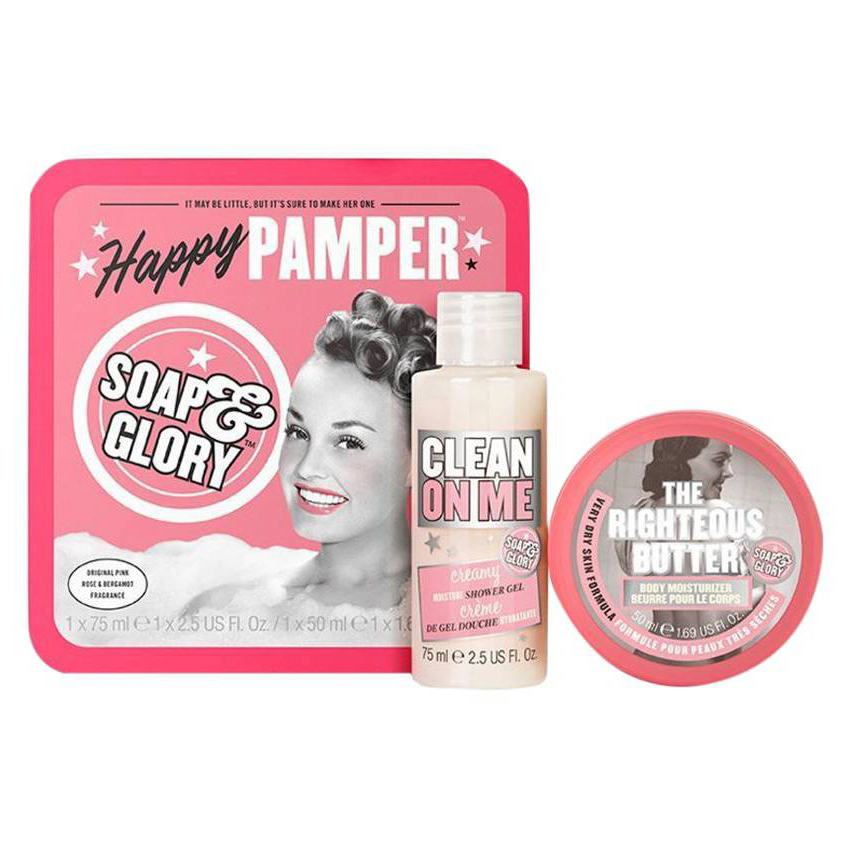 $10 and Under: Soap & Glory Happy Pamper Gift Set