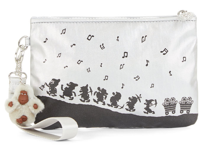 Disney's Snow White Sweetie Small Metallic Wristlet Pouch