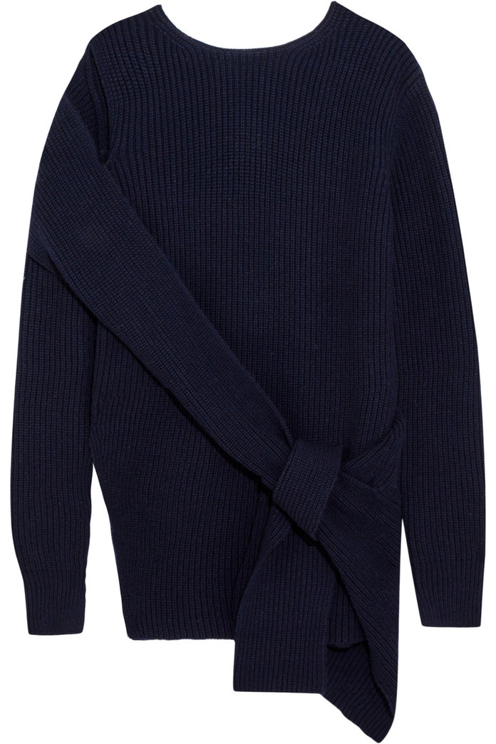 The Bow-Front Pullover