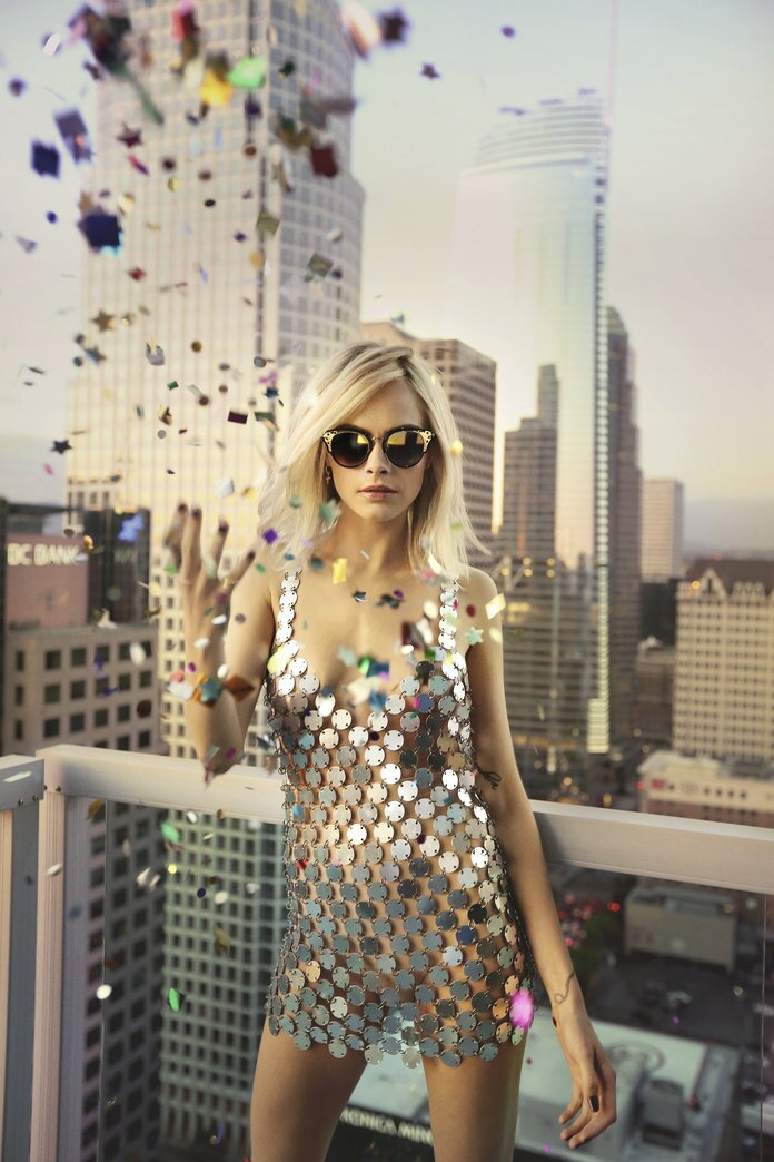 a718abf3fdb Cara Delevingne Is the Chicest Disco Party Girl in Jimmy Choo s Latest  Campaign. By Kim Duong