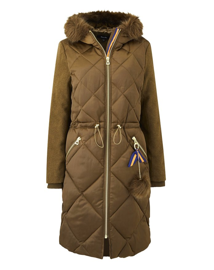 a puffer that is just as stylish as it is warm by Simply Be