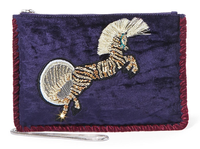 A statement clutch to pair with jeans and eveningwear by Steve madden