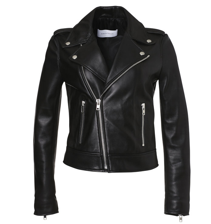 the perfect leather jacket for layering by Scanlan Theodore