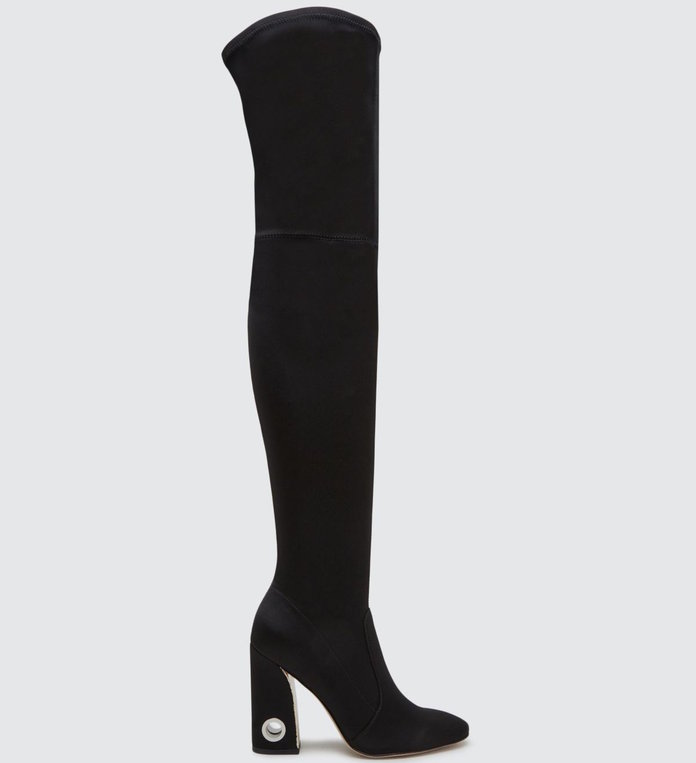 An over-the-knee boot that adds sex-appeal by Dolce Vita