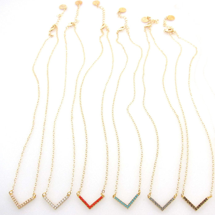 Dainty necklaces to mix and match by Jessica Elliot