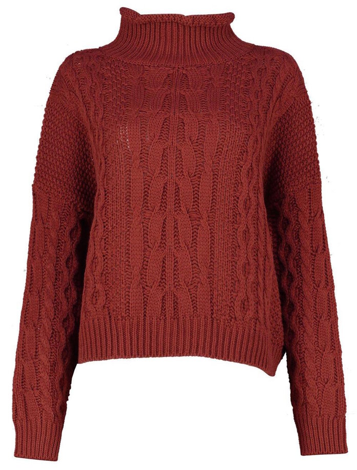 A slouchy sweater for lazy mornings by boohoo