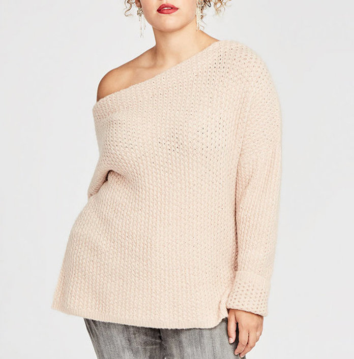 The One Shoulder Sweater by Rachel Rachel Roy