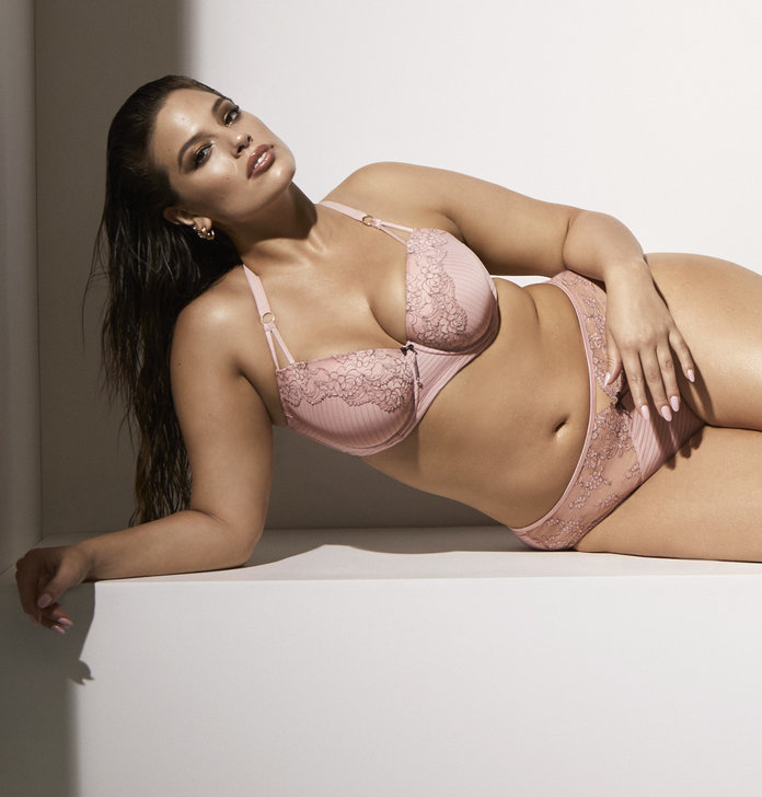 The Showstopper Balconnet Padded Underwire Bra and High Cut Panty