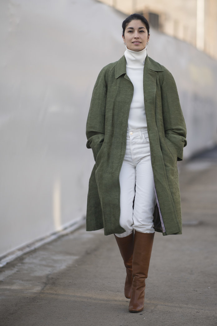 Try a green neutral