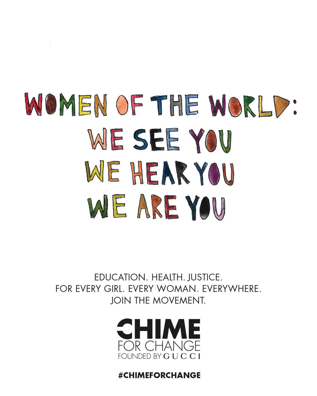 Chime for Change Embed 3