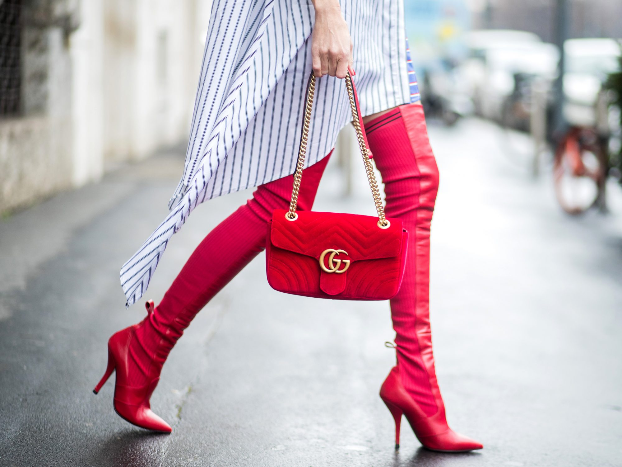 Always Match Your Shoes and Your Bag
