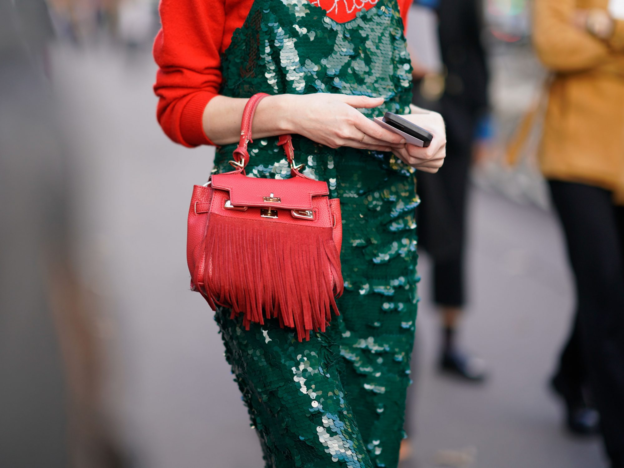 Sequins Are For Eveningwear