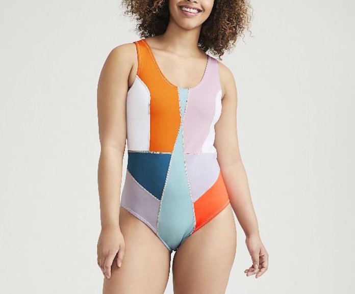 Cynthia Rowley's Color-Block Swimsuit
