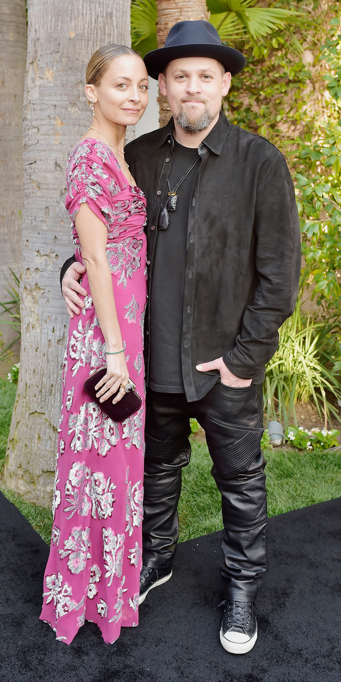 Nicole Richie and Joel Madden Daily Front Row Fashion Awards