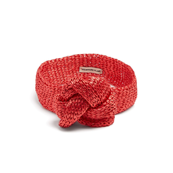 Reinhard Plank Hats Red Straw headband
