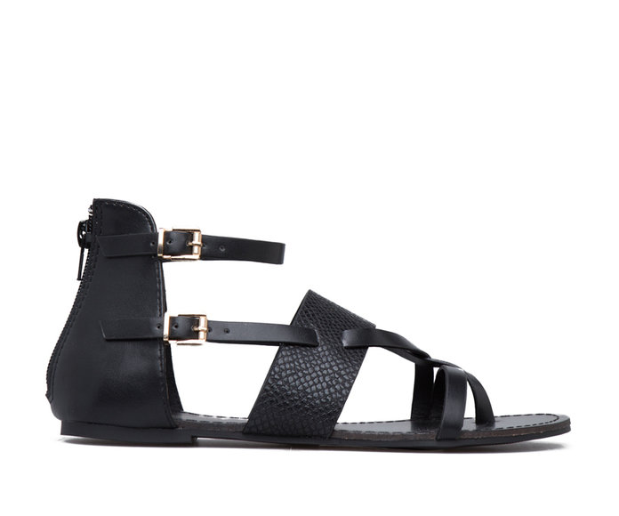 Aadilyn strappy colorblock sandals