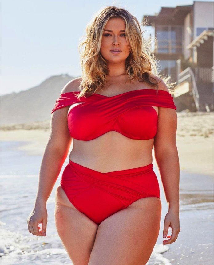 67d5f30694 Hunter McGrady Just Launched a Plus-Size Swimsuit Collection with ...