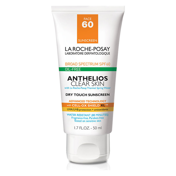 La Roche-Posay Anthelios Clear Skin Oil Free Dry Touch Sunscreen Lotion