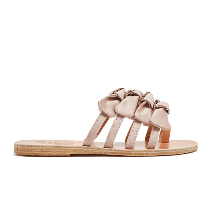 Sandals Bow Tie Slides