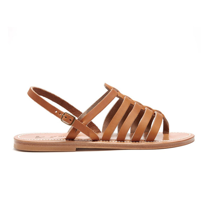 Strappy Buckle Sandals