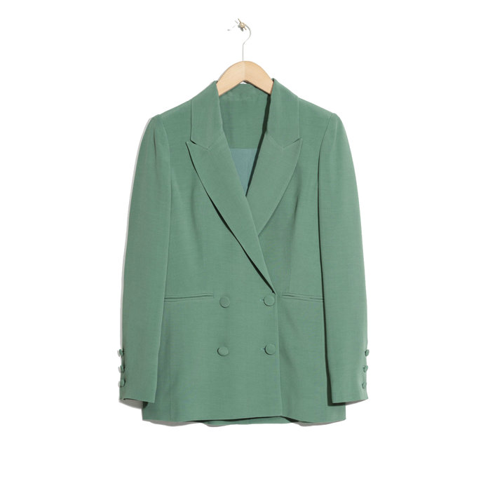 & Other Stories Oversized Long Blazer