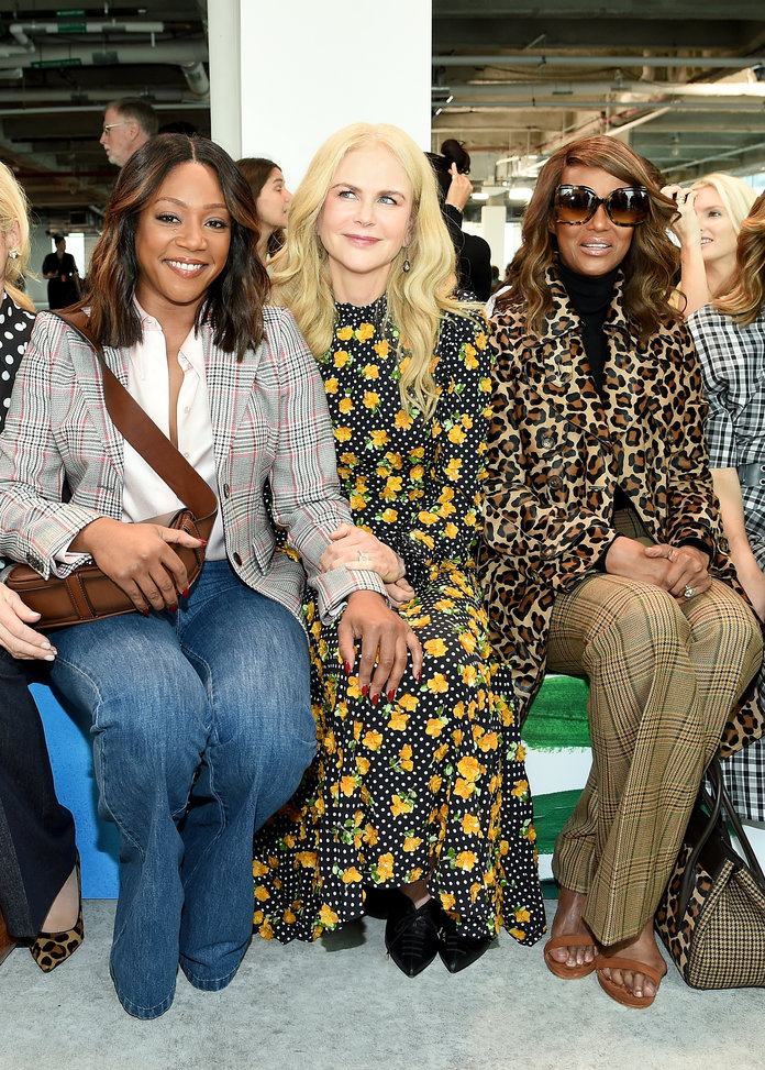 Tiffany Haddish, Nicole, Kidman, and Iman