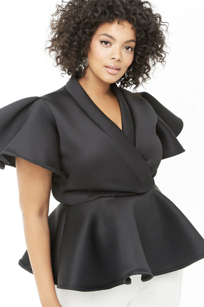 Plus-Size Going Out Tops - Embed