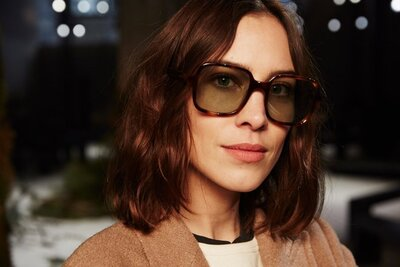 79d7594b558d3 Alexa Chung s New Sunglasses Line Is For Retro-Lovers Only