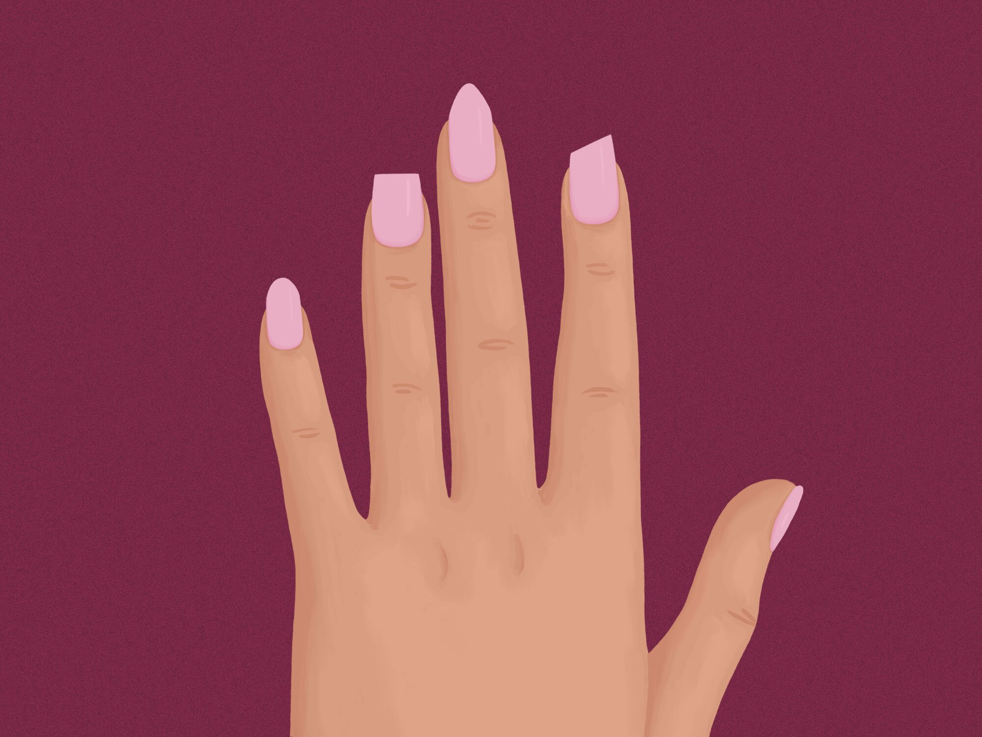 Popular Nail Shapes - How to Pick a Nail Shape | InStyle com