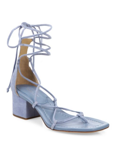 Lace-Up Sandals: Michael Kors Collection Ayers Lace-Up Sandals
