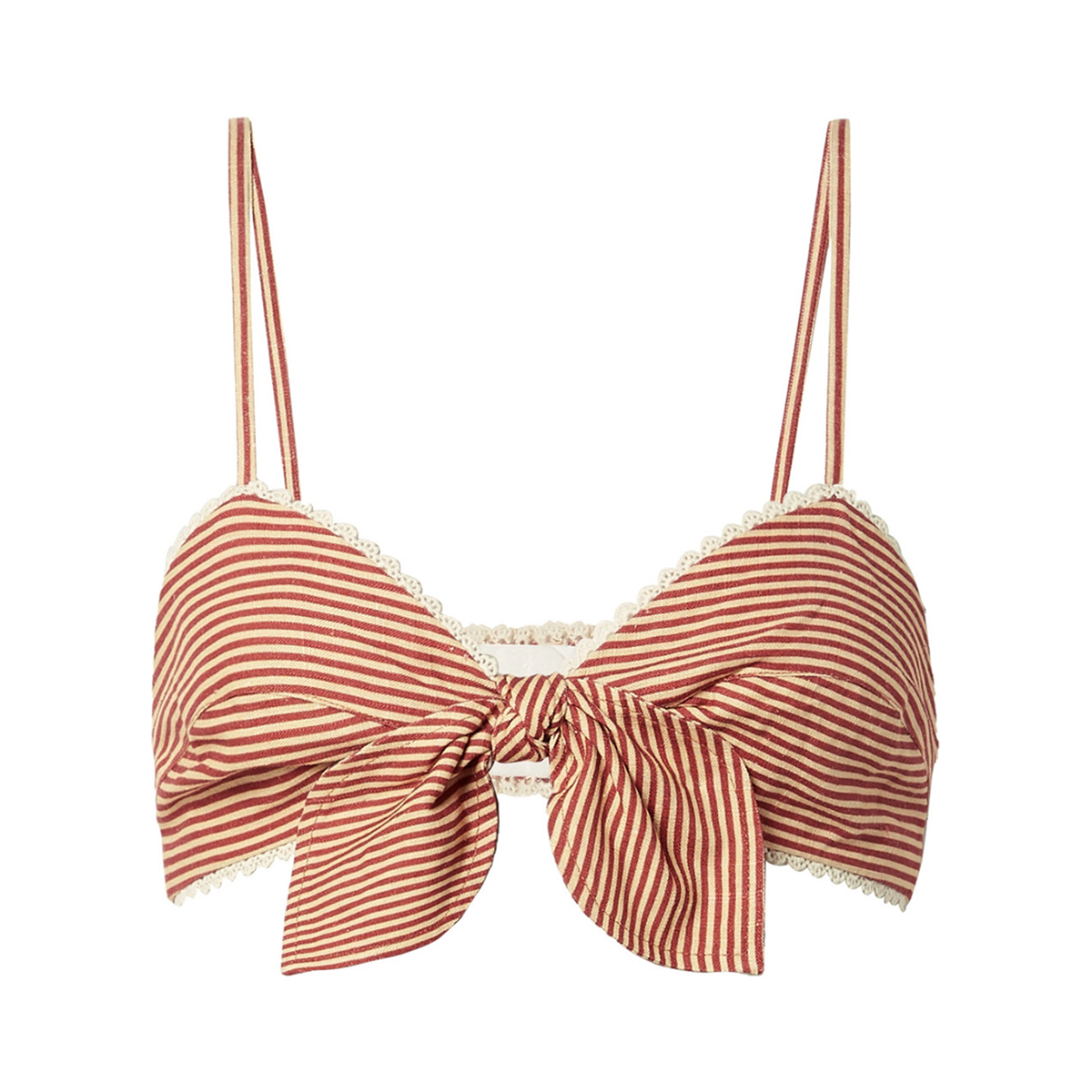 Miguelina Tilly Woven Bralette