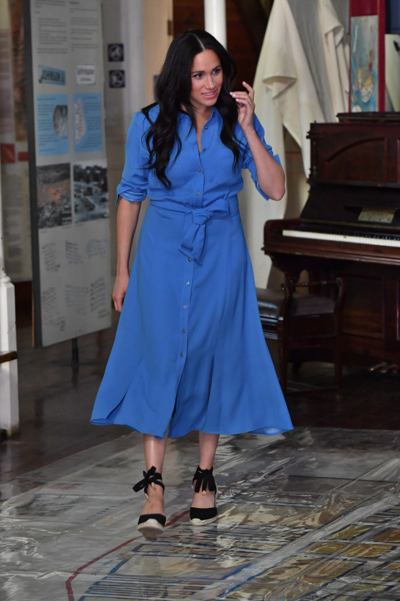 Meghan Markle Shirt Dress