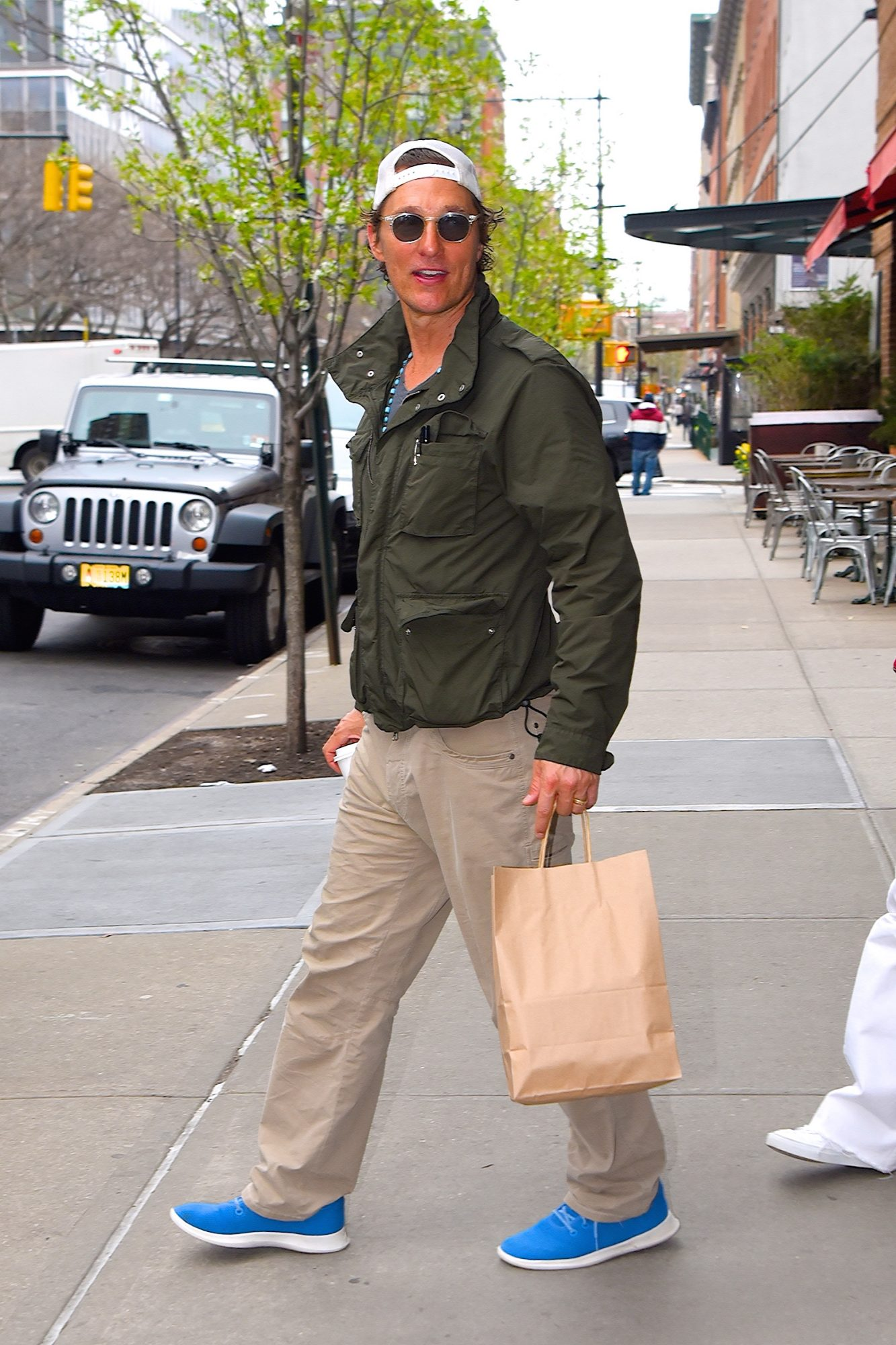 Matthew McConaughey Wearing Allbirds