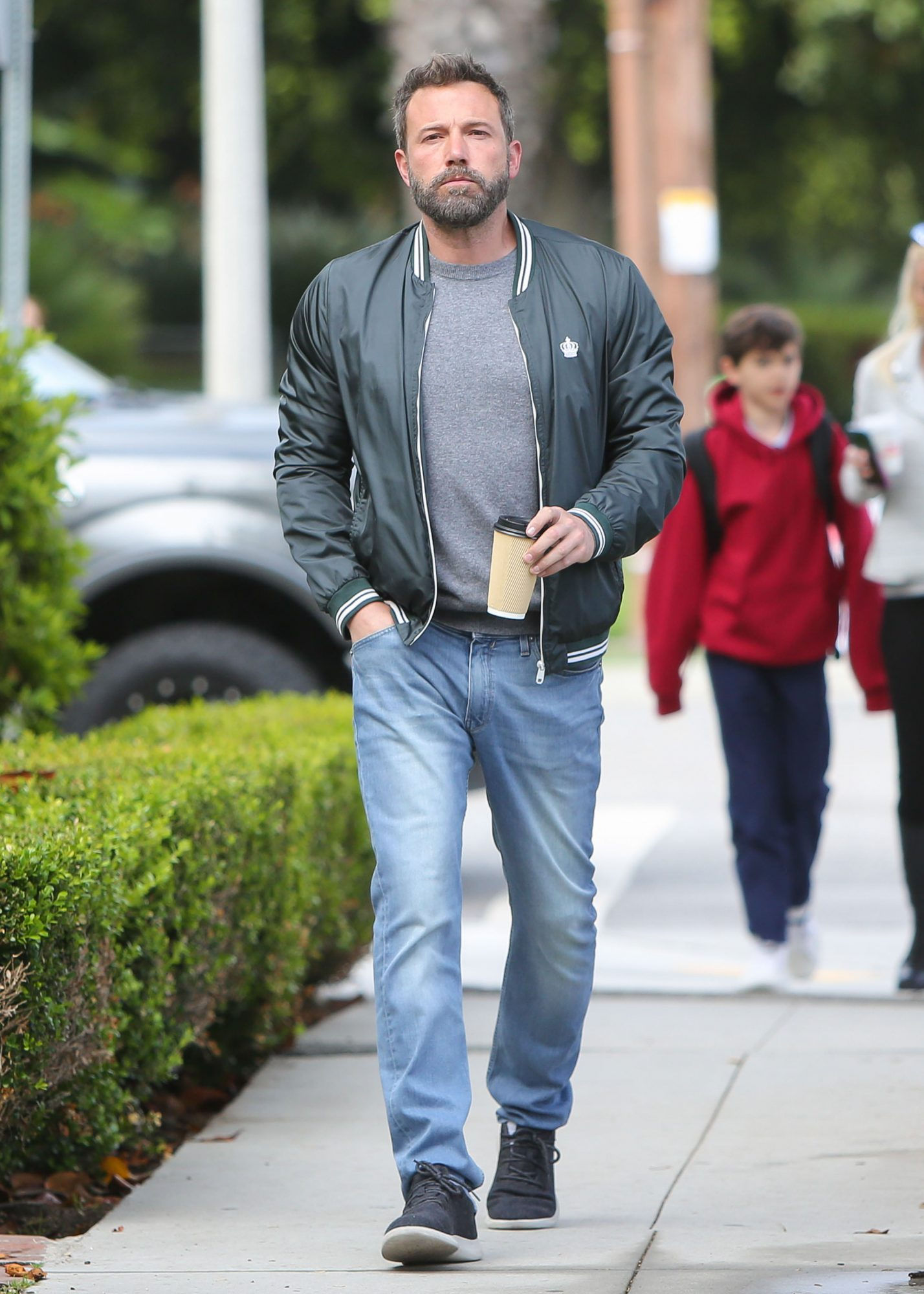 Ben Affleck Wearing Allbirds