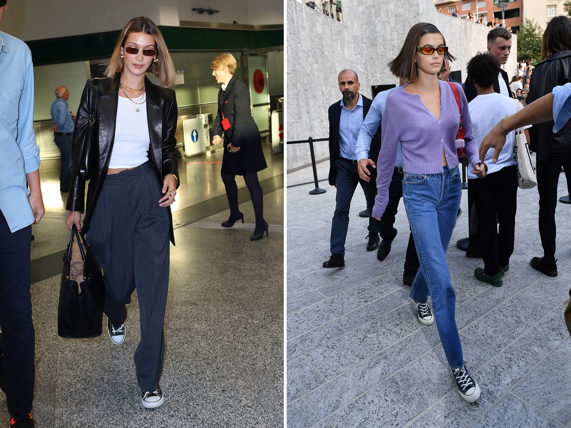 ECOMM: Bella Hadid and Kaia Gerber Converse Lead