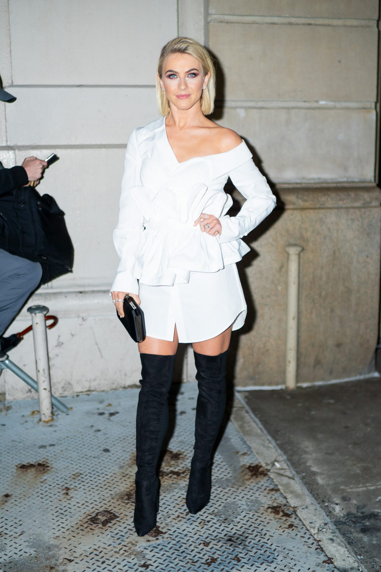 Bebe Rexha Wearing Steve Madden Dominique Boot